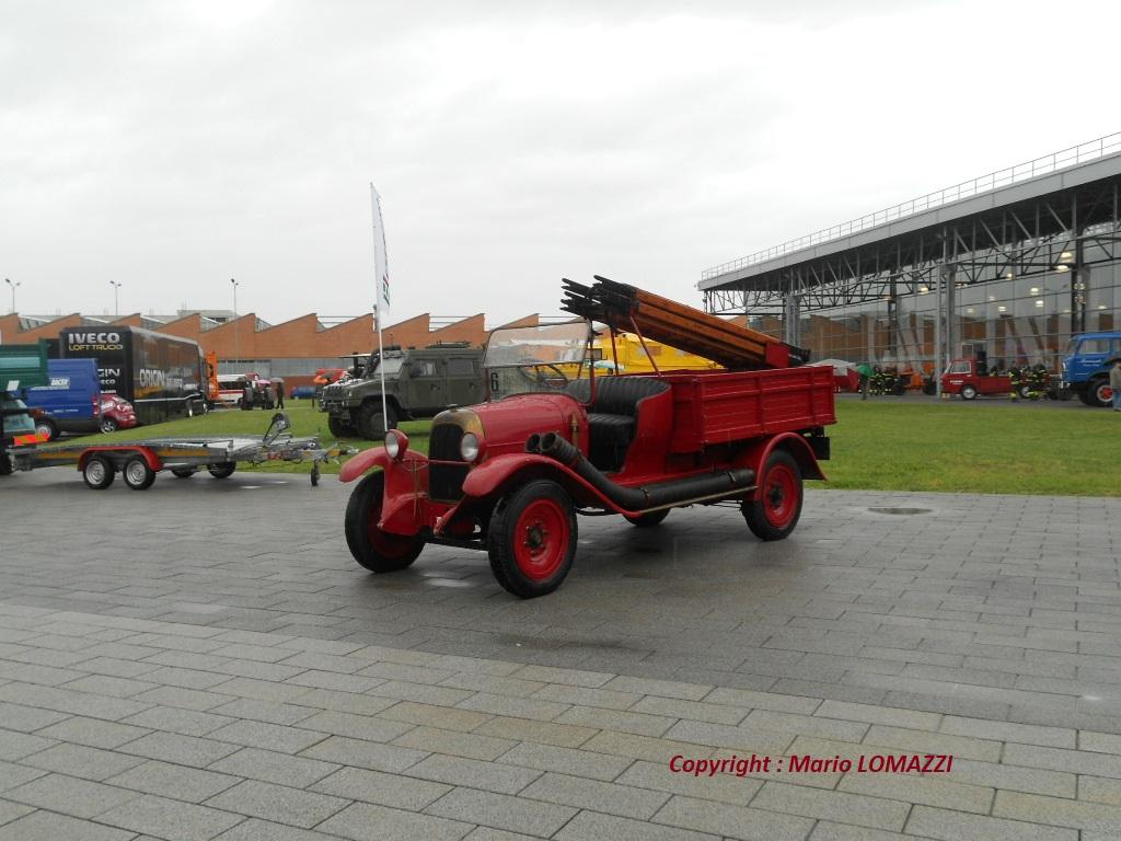 SPA véhicule d'incendie