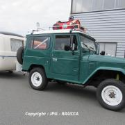 Toyota BJ40 1979 & Caravane 1966