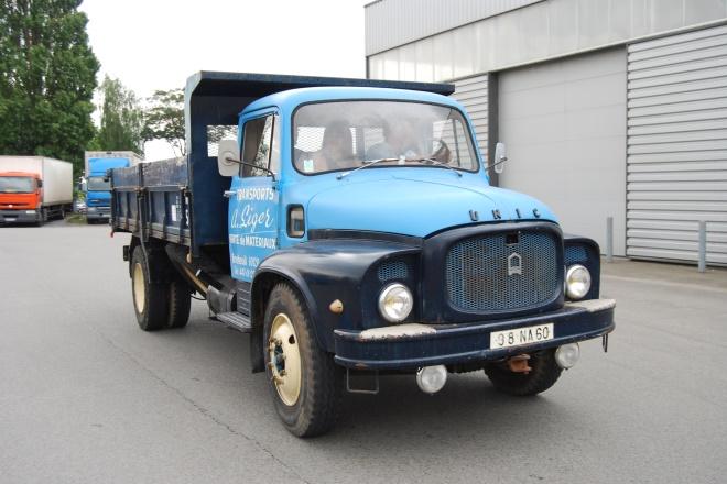 Unic P9 benne chantier 1965