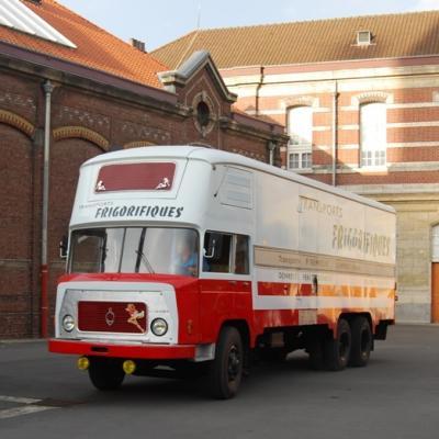 BERLIET GPRK10 Fourgon frigorifique de 1960