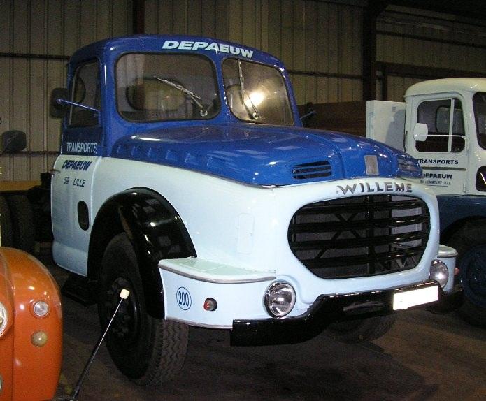WILLEME LD610 tracteur de 1958