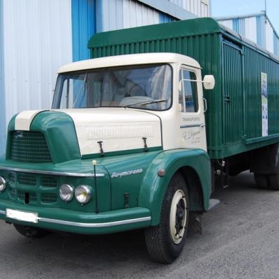 UNIC ZU66 Puymorens de 1958