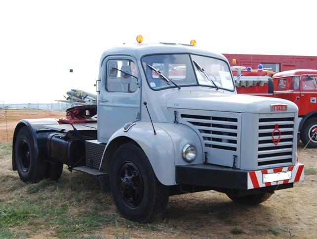 Berliet TLR10M2 tracteur de 1961