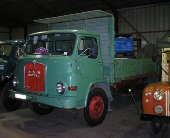 MAN 626 PLateau de 1967