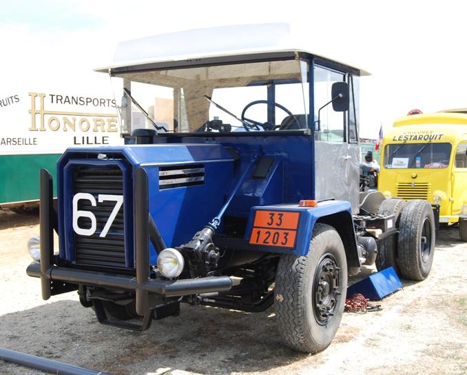 Saviem JL20 NT tracteur ex Becquet de 1965