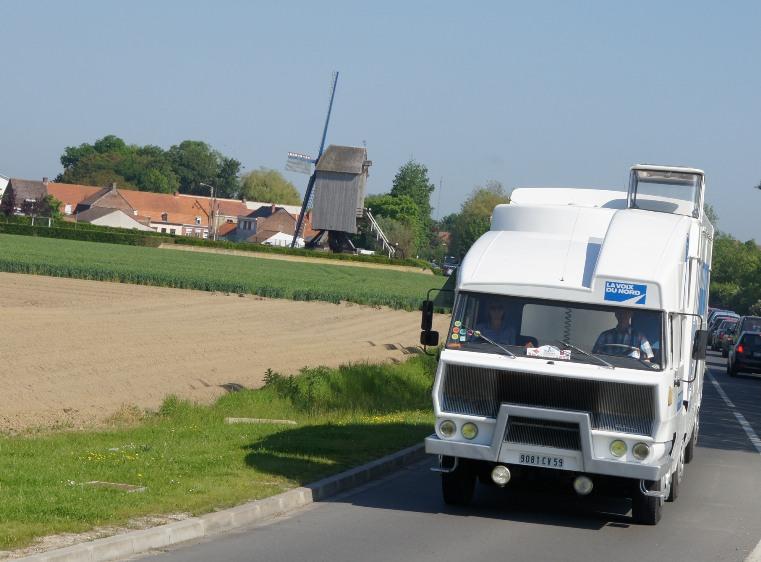 Le TRK10 au pays des moulins sur la route du retour