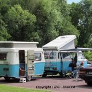 Volkswagen transporteur et caravane 1987