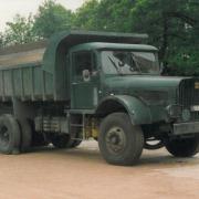 Willeme 6 roues benne chantier aperçu à Seclin
