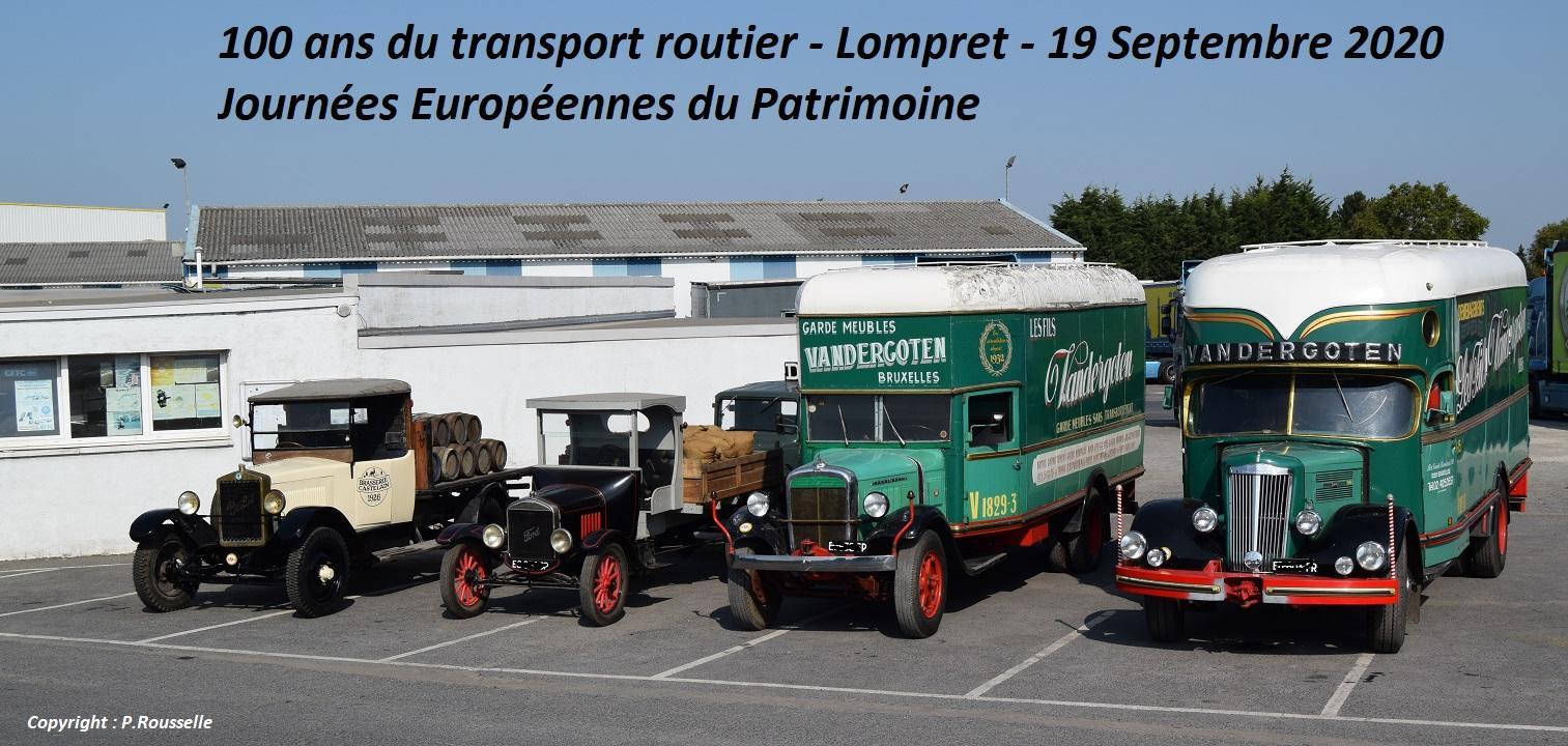 100 ans transport routier pour les jep 2020